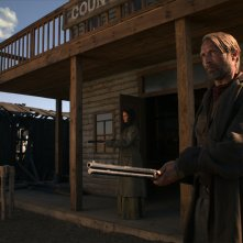 The Salvation: Mads Mikkelsen in un momento del film