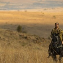 The Salvation: Mads Mikkelsen in una suggestiva scena del film western