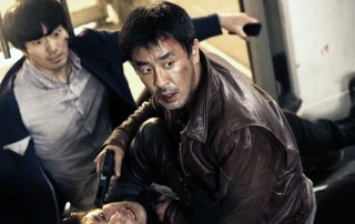 The target: Ryoo Seung-yong in una scena del film d'azione