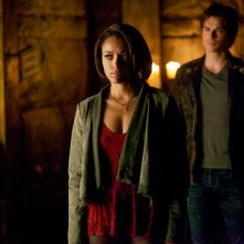 The Vampire Diaries: Kat Graham e Ian Somerhalder nell'episodio Home, finale della quinta stagione