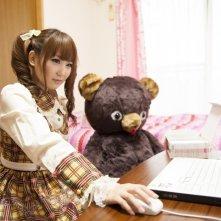 Musashino-sen No Shimai: Chisato Nakata e il suo orsacchiotto