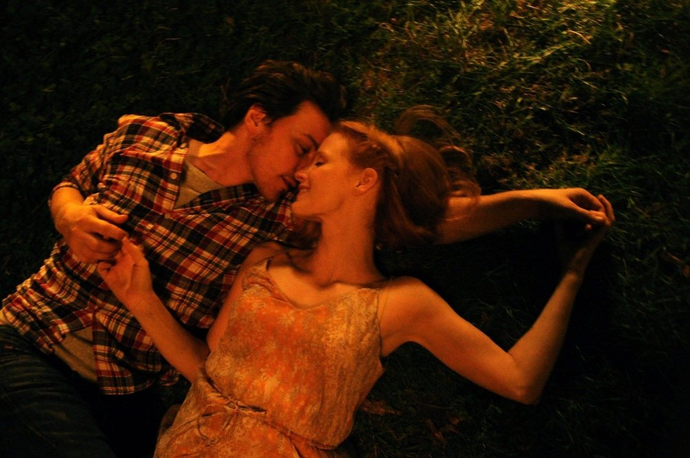 The Disappearance of Eleanor Rigby: James McAvoy e Jessica Chastain in una scena del film