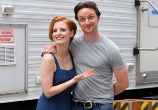 The Disappearance of Eleanor Rigby: James McAvoy e Jessica Chastain sul set