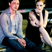 The Disappearance of Eleanor Rigby: James McAvoy insieme a Jessica Chastain in una scena