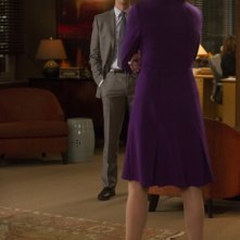 The Good Wife:  Matthew Goode e, di spalle, Christine Baranski in The Deep Web