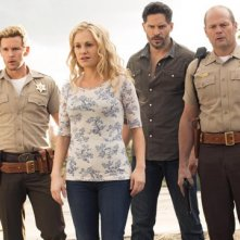 True Blood: Anna Paquin, Chris Bauer, Ryan Kwanten, Joe Manganiello, Sam Trammell nell'episodio I Found You