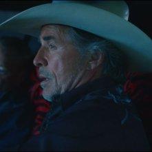 Cold in July: Michael C. Hall con Don Johnson e Sam Shepard in una scena del film
