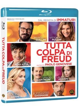 La cover del blu-ray di Tutta colpa di Freud