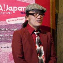 Soul Flower Train: il regista Hiroshi Nishio al photocall del WA! Japan Film Festival di Firenze
