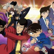 Lupin the 3rd vs Detective Conan: The Movie - Il wallpaper del film