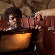 Samuel L. Jackson e la valigetta in Pulp Fiction