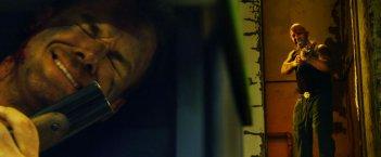 Cold in July: Micheal C. Hall in una concitata scena del film