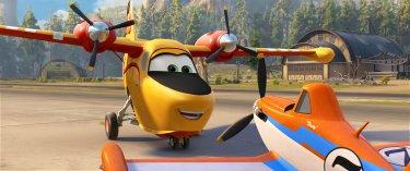 Planes 2 - Missione Antincendio: una scena del film d'animazione