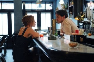 Jessica Chastain e James McAvoy in The Disappearance of Eleanor Rigby