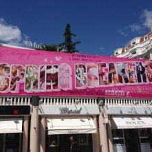 Spring Breakers -The Second Coming, un primo banner promozionale durante il Festival di Cannes 2014