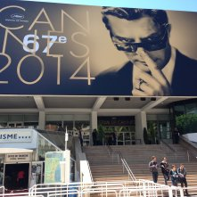 Cannes 2014: l'ingresso della sala Debussy