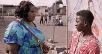 Run: Reine Sali Coulibaly in una scena del film