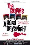 A Hard Day's Night: la locandina dell'evento cinematografico