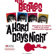 A Hard Day's Night: la locandina dell'evento cinematografico