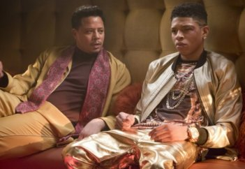 Empire: Terrence Howard in una scena