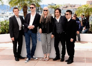 Jane Campion con alcuni giurati del Festival di Cannes 2014