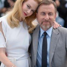 Nicole Kidman e Tim Roth a Cannes 2014 per presentare Grace di Monaco