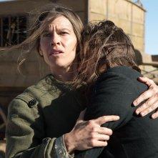 The Homesman: Hilary Swank in una scena