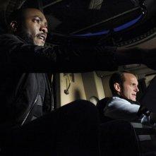 Agents of S.H.I.E.L.D.: una scena con B.J. Britt e Clark Gregg