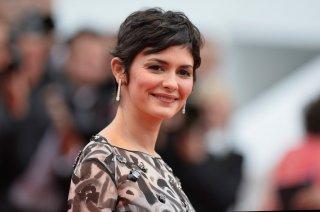 Festival di Cannes 2014, la splendida Audrey Tautou sul tappeto rosso