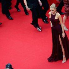 Blake Lively sul tappeto rosso del festival di Cannes 2014