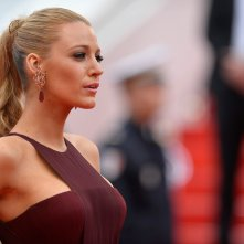 Blake Lively sul red carpet di Cannes 2014, serata inaugurale
