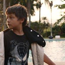 Gente de bien: il piccolo Brayan Santamaria in una scena del film