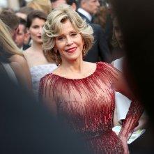 Jane Fonda sul tappeto rosso del 67esimo Festival di Cannes