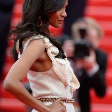 Zoe Saldana, splendida sul red carpet di Cannes 2014