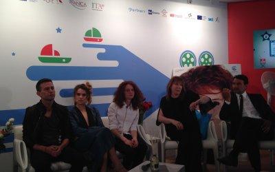 Più buio di mezzanotte: Sebastiano Riso e il cast a Cannes 2014
