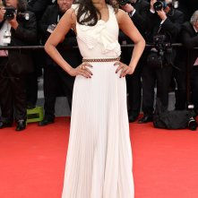 Zoe Saldana sul tappeto rosso di Cannes 2014