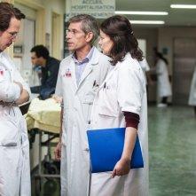 Hippocrate: Jacques Gamblin con Marianne Denicourt e Reda Kateb in una scena del film