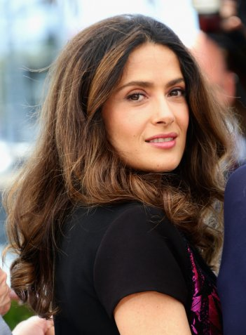 Salma Hayek a Cannes 2014 per presentare Kahlil Gibran's The Prophet