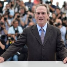 Cannes 2014: Tommy Lee Jones durante il photocall per The Homesman