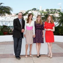 Cannes 2014: Tommy Lee Jones, Hilary Swank, Miranda Otto e Sonja Richter per il photocall di The Homesman