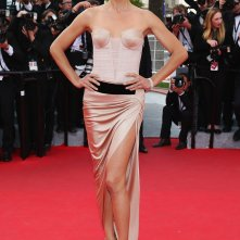 Adriana Lima sul red carpet di Cannes 2014