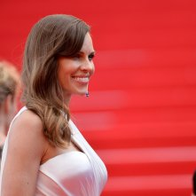Hilary Swank presenta The Homesman a Cannes 2014