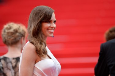 Hilary Swank presenta The Homesman a Cannes 2014
