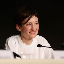 Alba Rohrwacher durante la press conference per Le meraviglie, Cannes 2014