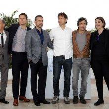 Foxcatcher: il cast al completo immortalato durante il photocall a Cannes 2014