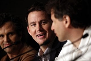 Foxcatcher: Channing Tatum con Mark Ruffalo in conferenza stampa a Cannes 2014