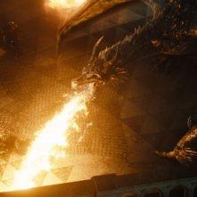 Maleficent: una scena 'infuocata' tratta dal film