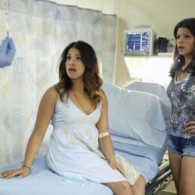 Jane the Virgin: Gina Rodriguez e Andrea Navedo