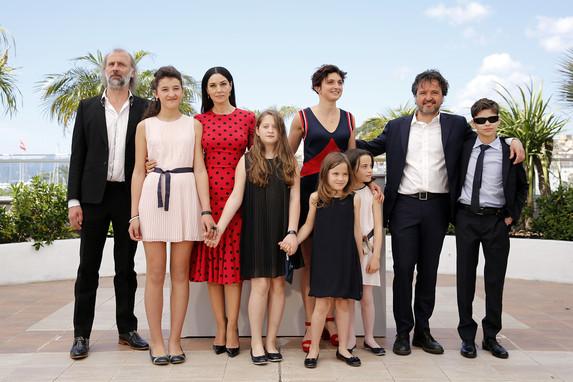 Cannes 2014: il cast di Le meraviglie durante il photocall