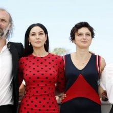 Cannes 2014: Monica Bellucci, Alice Rohrwacher per il photocall di Le meraviglie